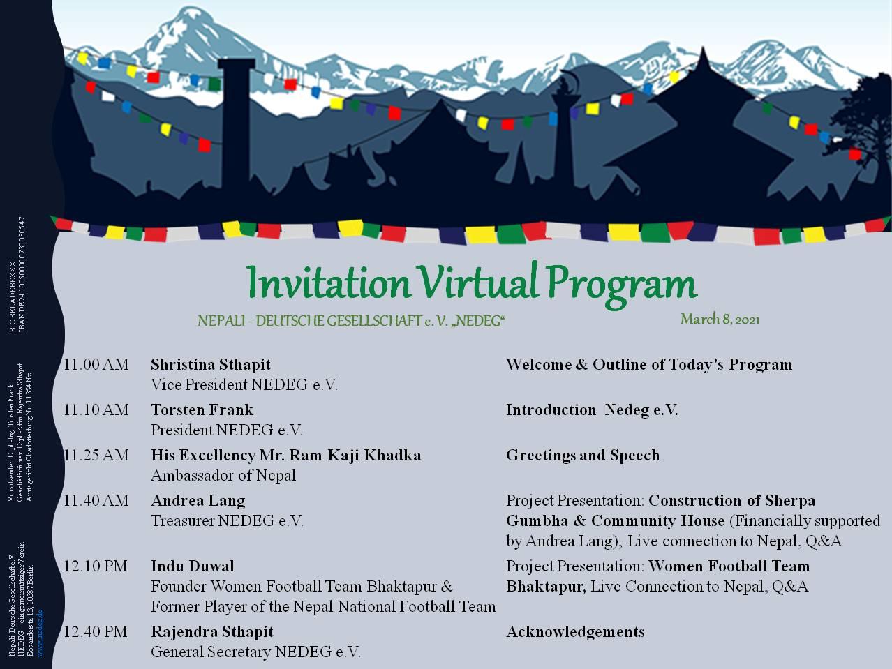 Nedeg Invitation